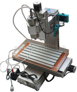 3 Axis Column Type Engraving Machine High pricision Ball Screw Cnc 3040 Table