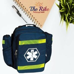 First Responder Ems Emt O2 Oxygen Trauma Backpack Navy