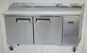 Bison Bpt 67 67 Refrigerated Pizza Prep Table