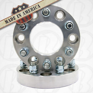 2pc 6 Lug 6x5 To 6x4 5 1 25 Thick Wheel Adapters Spacers 12x1 5 Usa Made