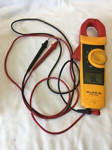 Fluke 333 Digital Multimeter Clamp Measure Ac Amps Ac dc Volts Ohms