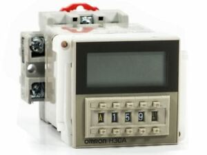 Omron H3ca a Industrial Solid State Timer With Panel Mount And Din rail Base