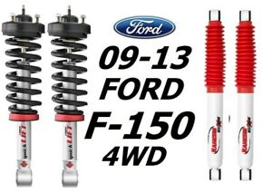 Rancho Front Quicklift Struts Rs5000x Rear Shocks For 09 13 Ford F 150 4wd