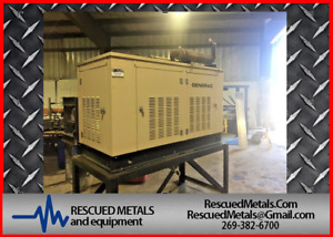 Generac 35 Kw 35 Kw Ng lpg Used Natural Gas Generator Standby Low Hours