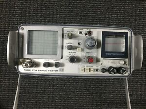 Tektronix 1502 Tdr Cable Tester Time Domain Reflectometer For Parts
