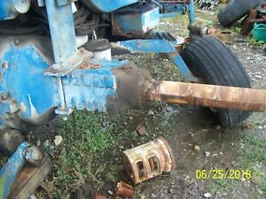 Ford 8700 Tractor Rear Axle Assm Fit 9700 Maybe 8000 9000 8600 9600