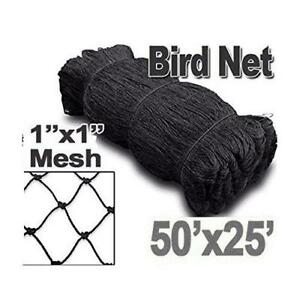 25 X 50 Net Netting For Bird Poultry Aviary Game Pens New 1 Square Mesh Size