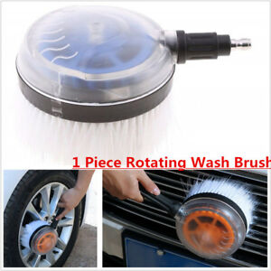 Rotating Wash Brush Universal Pressure Washer Car  Conservatory Cleaner Tools