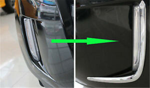 2x For Ford Edge 2012 2014 Front Fog Light Brow Abs Decorative Trim Rh