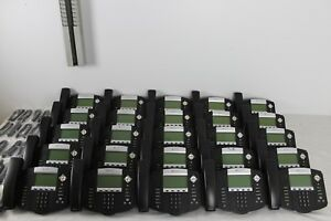 Lot Of 25 Polycom Soundpoint Ip 550 Ip550 Sip 2201 12550 001 Phones