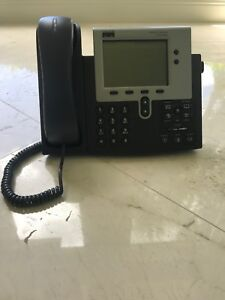 11 Cisco Ip Phones With Headset 7940 Series Business