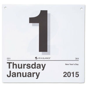 today Is Daily Wall Calendar Refill 8 1 2 X 8 Jan dec 2018 12 Month