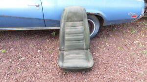 1969 70 Ford Mustang Cougar Mach 1 P S Bucket Seat Oem Dozb