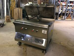 Taylor Electric 36 Double Platen Grill Flat Press Clam Shell Panini