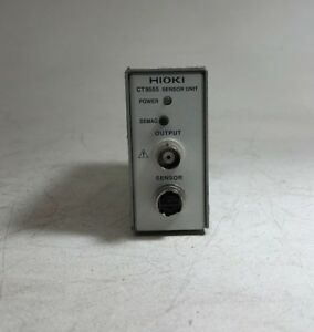 Hioki Ct9555 Single Channel Sensor Unit Me15w Connector waveform Output