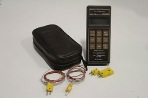 Omega Hh22 Type J k Thermocouple Microprocessor Thermometer