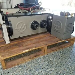 Used Haas T5c 2 Head 5c 4th And 5th 2 Axis Rotary Table Indexer Brushless