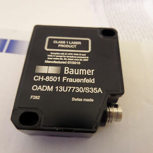 Baumer Oadm 13u7730 s35a Laser Distance Sensor High Accuracy