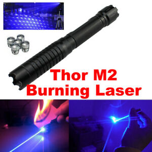 Thor M Ii 2 450nm Blue Laser Pointer Adjustable Lazer Pen Burn Paper