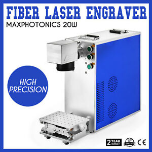 20w Fiber Laser Marking Machine Engraver Flexible Stainless Steel Desktop Mini