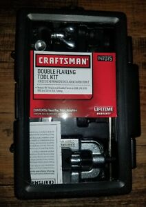 Craftsman Double Flaring Tool Kit 947075 Brand New