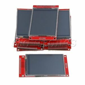 10pcs Lcd Touch Panel 240 X 320 2 8 Spi Tft Serial Port Module With Pbc Ili9341