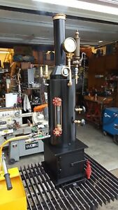 Live Steam Boiler Hand Pump Whistle Gauge Steam Engine