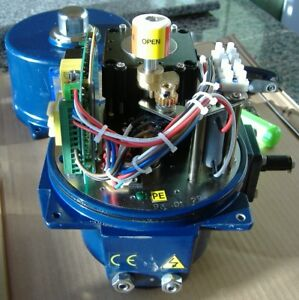 Rotork 800 In lb 4 20 Ma Rotary Electric Actuator New Surplus