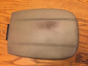 97 02 Expedition Navigator Wide Center Console Armrest Oem Storage Lid 16 5 Tan