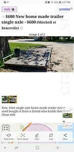 Utility Trailer Mowing Trailer Atv Trailer