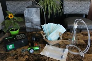 Water And Insufflation Kit With Home Model