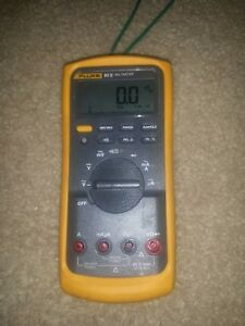 Fluke 83v 5 Multimeter Dmm test Leads Not Included
