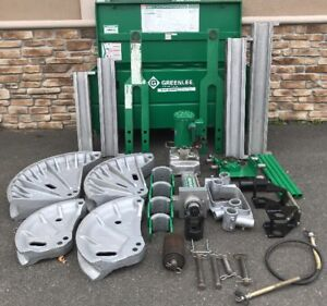 Greenlee 881ct Pipe Bender W 960 Hydraulic Pump 1813 Bending Table 881 1