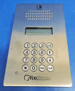 Keri Systems Egs 750 Entraguard Silver Telephone Entry System 750 Tenants