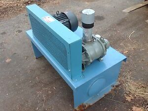 Roots 47 Urai Blower Stoddard Silencer And 7 1 2hp Severe Duty Motor Package New