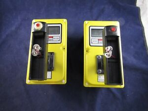 2 Victoreen 450p Ion Chamber Radiation Meters Geiger Counters