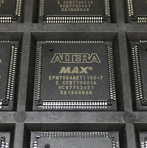 Altera Epm7064aeti100 7 Max 7000a Programmable Ic Tqfp 100 Pin 14mm Lot Of 15