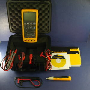 New Fluke 789 Processmeter Hard Case And Accessories