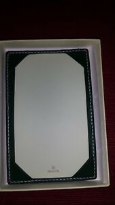 Rolex Green Note Pad With Original Rolex Box Pre owned But Never Used