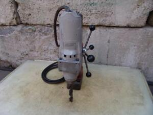 Milwaukee Magnetic Drill Press Works Fine