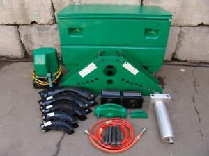 Greenlee 884 1 1 4 To 4 Pvc Hydraulic Pipe Bender 980 Electric Hydraulic Pump