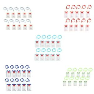 50x Vertical Office Work Card Badges Lanyard Holder Neck Strap Id Card Cases