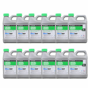 Case Of 12 Peak All Season Diesel Boost Fuel Additive Injector Cleaner 32 Oz
