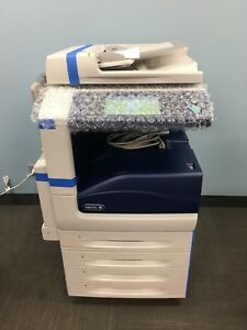 Xerox Workcentre 7830 Multi Function Prints Color Up To 11x17 Low Meter 130k