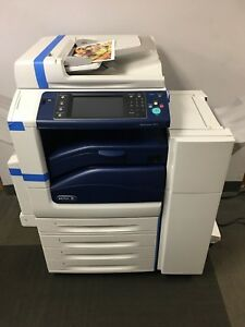 Xerox Workcentre 7830 Color Multifunction W Office Finisher Low Meter 130k