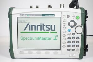 Anritsu Ms2723b Spectrum Master Hp Hh Spectrum Analyzer 9 Khz To 13 Ghz W opt