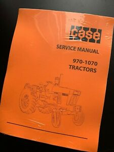 Ji Case 970 1070 Tractors Service Repair Manual Print Version