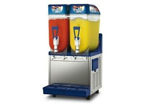 Spm Frosty 2 Bowl Margarita Granita Bellini Slush Machine
