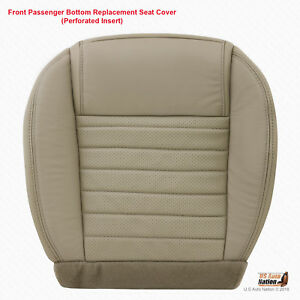 2007 2008 2009 Ford Mustang Gt Passenger Bottom Perforated Leather Seat Covertan