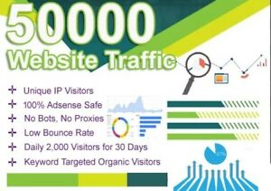 500 000 Views Real Web Traffic For Your Website Real Google Analytics Tracking